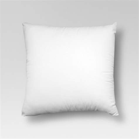 white decorative pillows white throw pillow insert threshold target