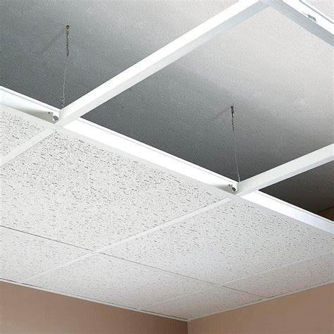 Menards Ceiling Tile Grid by Suspended Ceiling Grid White Color