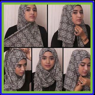 hijab tutorial ala natasha farani gambarvideo informasi terbaru