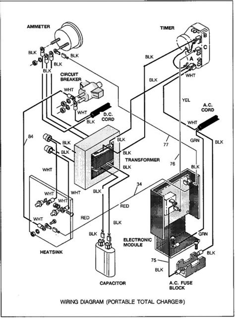 Ez Go Textron Charger Wiring Diagram by X 444 Year 1992 Ezgo Golf Cart