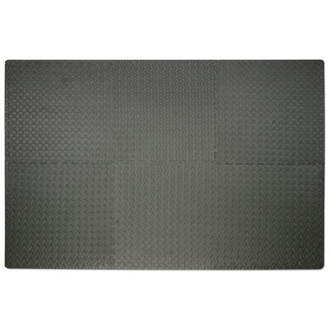 Shock Athletic Interlocking Flooring by Weider Floor Mat Equipment 1 Mat Fitness Sports