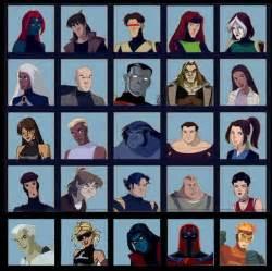 X-Men Evolution Characters