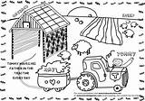 Coloring Farm Printable Worksheets Comment Template Coloringhome sketch template
