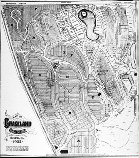 graceland cemetery  chicago gardens  early history
