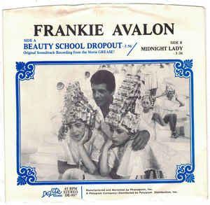 foto de Frankie Avalon Beauty School Dropout (1978 Vinyl) Discogs