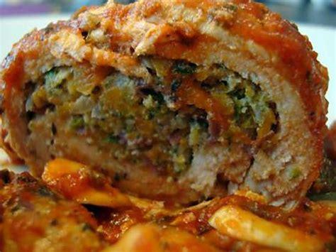 cuisiner des paupiettes de dinde recette de paupiettes de dinde farcies aux légumes sauce