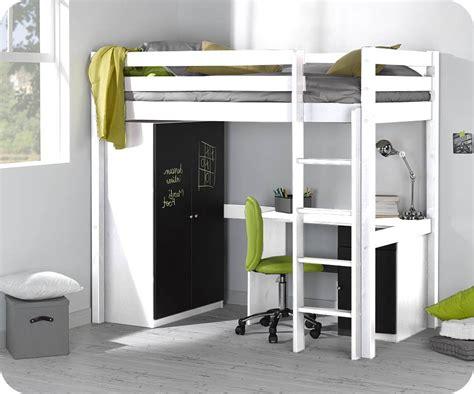 lit mezzanine bureau armoire free lit mezzanine armoire bureau with lit mezzanine