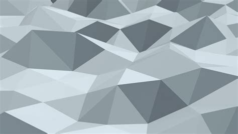 Abstract Geometric Shapes Transparent Background by White Polygonal Shape Vibrating Abstract Geometrical