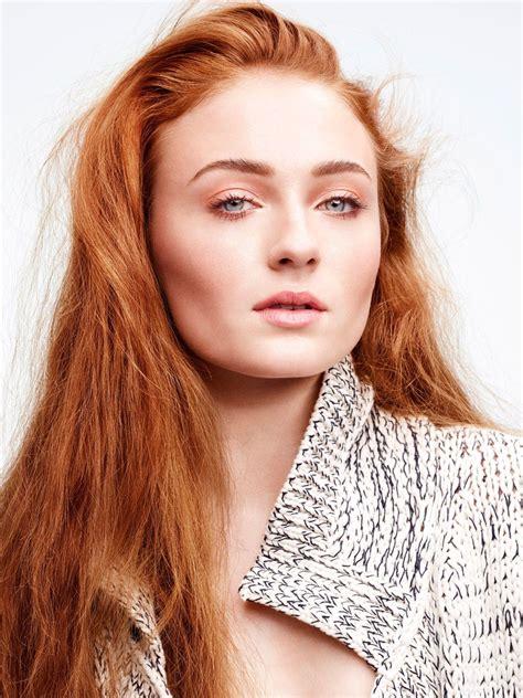 Sophie Turner   Sophie turner, Redheads, Redhead
