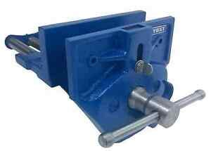 yost woodworking vise   rapid action lever quick