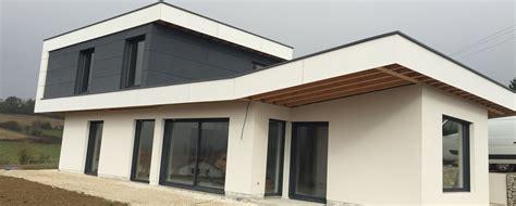 nivrem maison toit terrasse ossature bois diverses id 233 es de conception de patio en bois