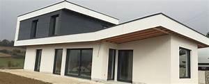 Garage En Bois Toit Plat : impressionnant extension garage bois toit plat et ossature ~ Dailycaller-alerts.com Idées de Décoration