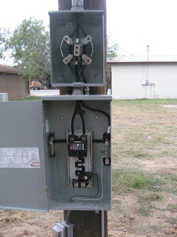 Mobile Home Meter And Breaker Box Wiring by 200 Meter Loop Critique My Work Electrical Diy