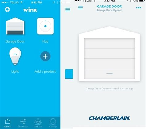 Wink Garage Door Opener by Home Automation Made Easy