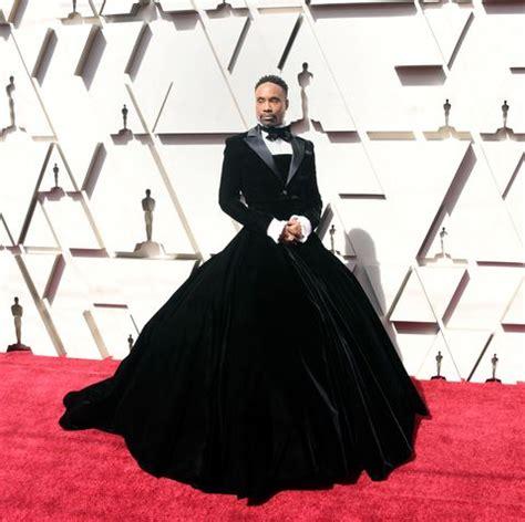 Billy Porter Wears Christian Siriano Tuxedo Gown Oscars