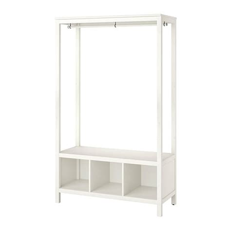 Hemnes Armoire by Hemnes Open Wardrobe White Stained 120x197x50 Cm Ikea