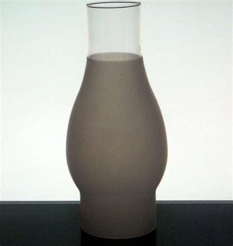 8 inch l shade hurricane l shade 3 4 frosted 2 5 8 inch fitter x 7 7 8 oos