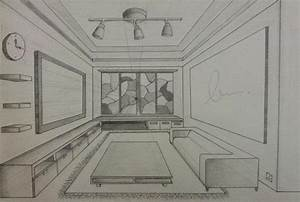 Perspective Drawing – Interior Design | ATHELIN's