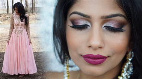 Wedding Makeup : Spring Indian Wedding Makeup Tutorial & Outfit!