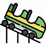Coaster Roller Icon Icons Flaticon