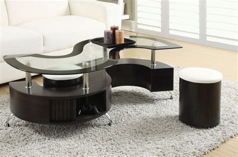 Coaster 720218 Coffee Table And Stool Set