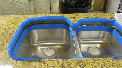 undermount kitchen sink installation granite countertop how to install an undermount sink to a granite countertop
