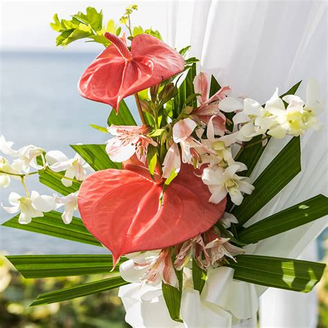 wedding additional options maui blooms