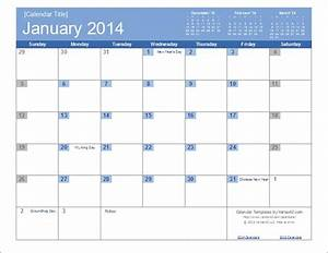 Quarterly Calendar 2015 Printable An Easy To Edit 2014 Calendar Template For Excel