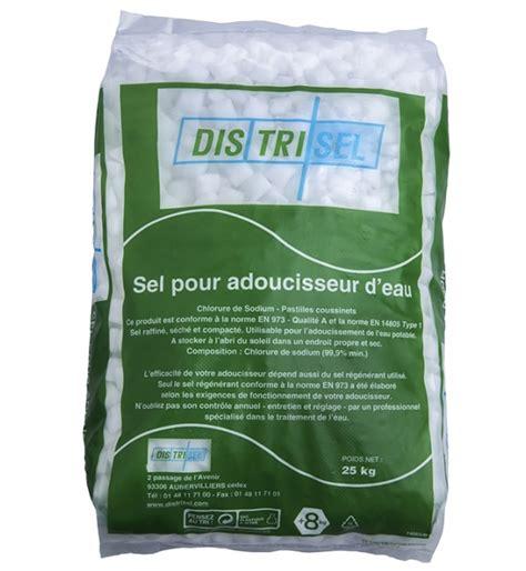 sel pour adoucisseur 25 kg fabricant