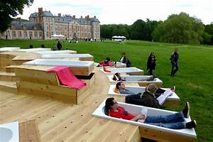 Le Bruit Du Frigo : escultura de madera para darse un relajante ba o al aire ~ Melissatoandfro.com Idées de Décoration