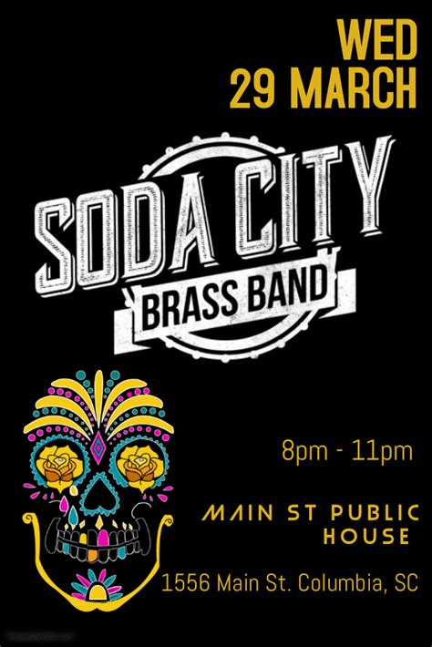 Soda City Brass Band At Public House Presented By Soda