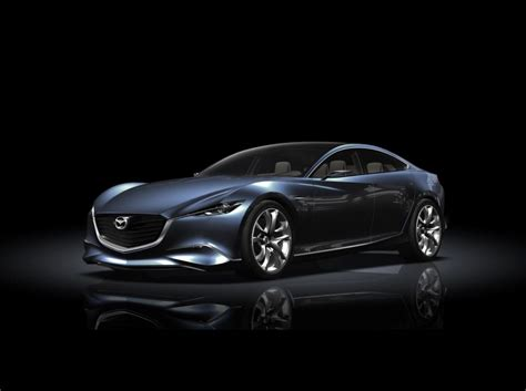 mazda car luxury cars new mazda shinari concept