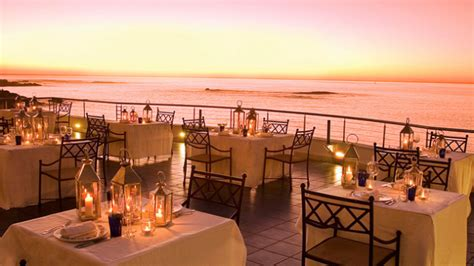 Cape Town's Best Restaurants Azure At The Twelve Apostles