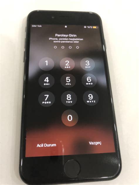 satildi gelen alir  tl iphone   gb mat siyah sayfa