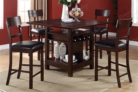 Counter High Dining Sets Dining Room Sets Black Counter