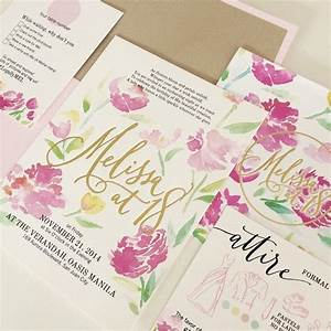 by ink scribbler wedding invitations pinterest With letterpress wedding invitations philippines
