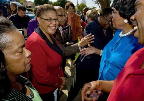 Karen Bass for VP? L.A.'s major loss would be America's ...
