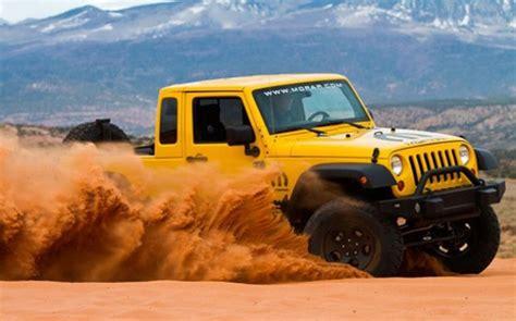 gen jeep wrangler pickup diesels  hybrids  coming news  fast lane truck