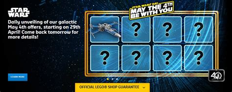 2017 May the 4th Be With You LEGO Star Wars Sale Revealed ...