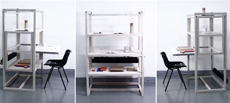 desk and shelving unit the perfect family work surface three desks one shelving