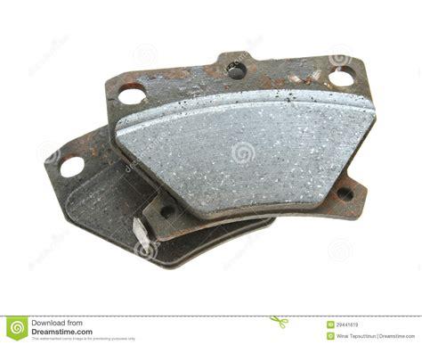 Used Brake Pads Royalty-free Stock Photo
