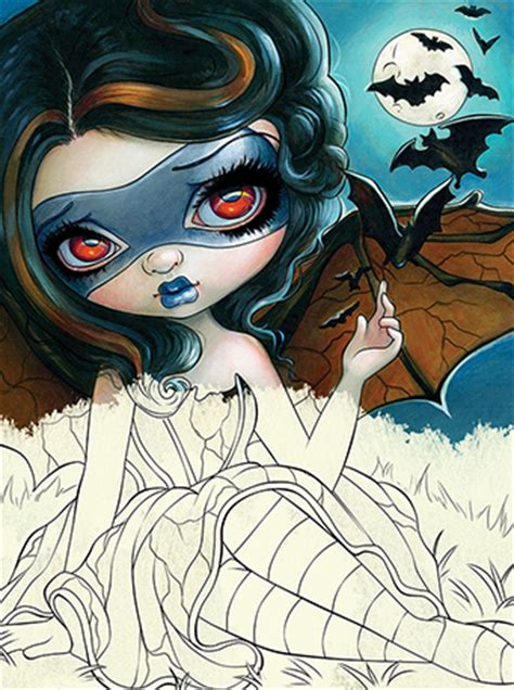 blue angel publishing jasmine becket griffith coloring book