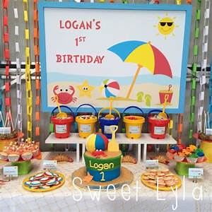 First Birthday Beach Party | Kids Party Space
