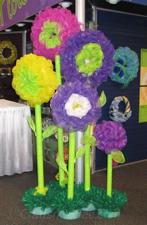 diy deco mesh flowers deco mesh crafts crafts pool
