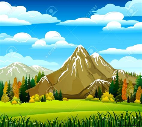 Backgrounds Clipart by Clouds Mountain Clipart Clipground