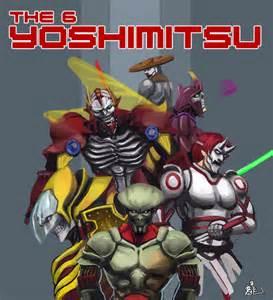 Yoshimitsu Tekken 1