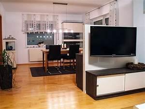 Schreibtisch Im Wohnzimmer : wohnzimmer und esszimmerausstattung mit verstecktem schreibtisch tischlerei friehe ~ Sanjose-hotels-ca.com Haus und Dekorationen