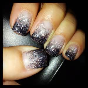 Homecoming nails but with navy blue instead of black to match my dress nailed it