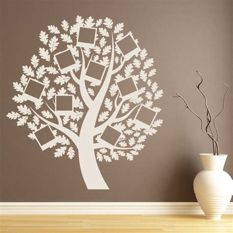 polaroid family tree wall sticker family wall art