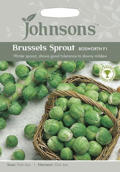 johnsons vegetable brussels sprout bosworth